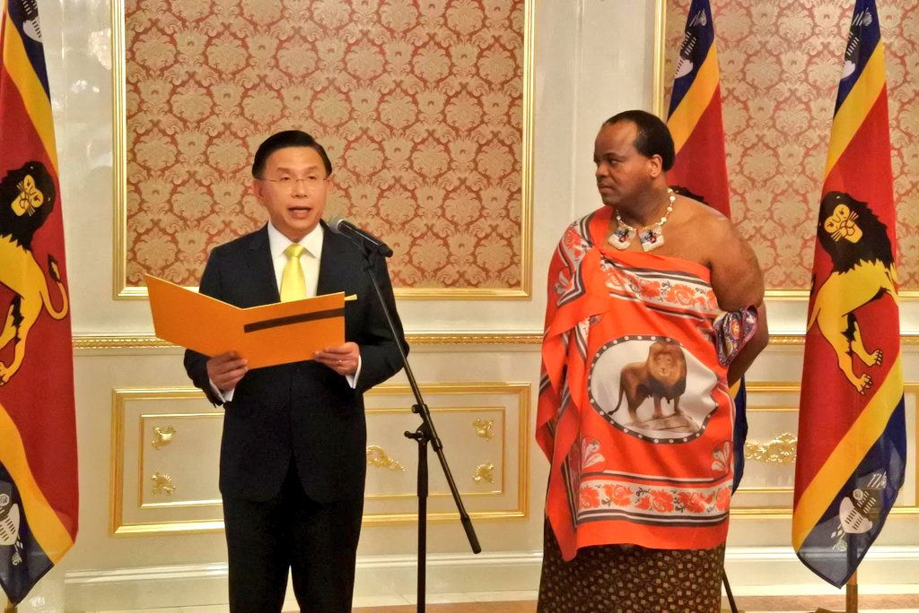 Taiwan Ambassador thanks eSwatini, US as lobbying for inclusion in WHO intensify