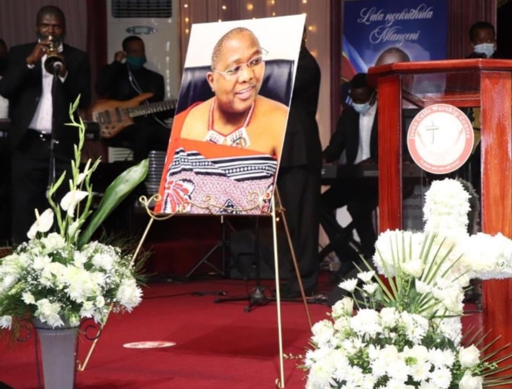 MEMORIAL SERVICE: King expresses sadness on Prime Minister Ambrose Dlamini death.