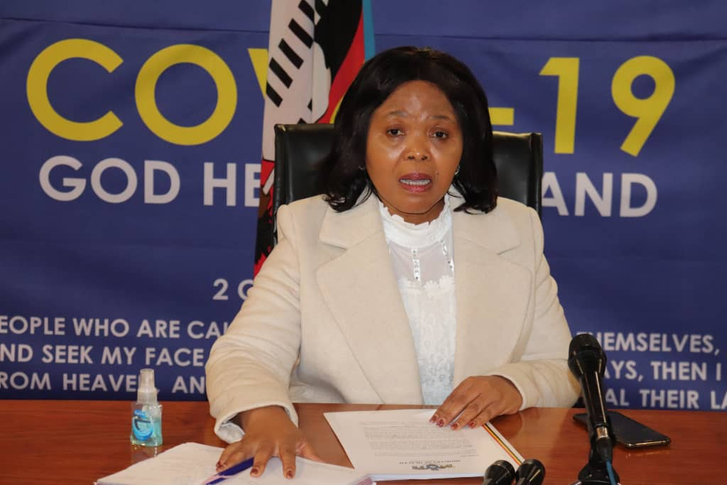 Eswatini Health Minister Lizzie Nkosi in self-isolation as Secretary tests positive