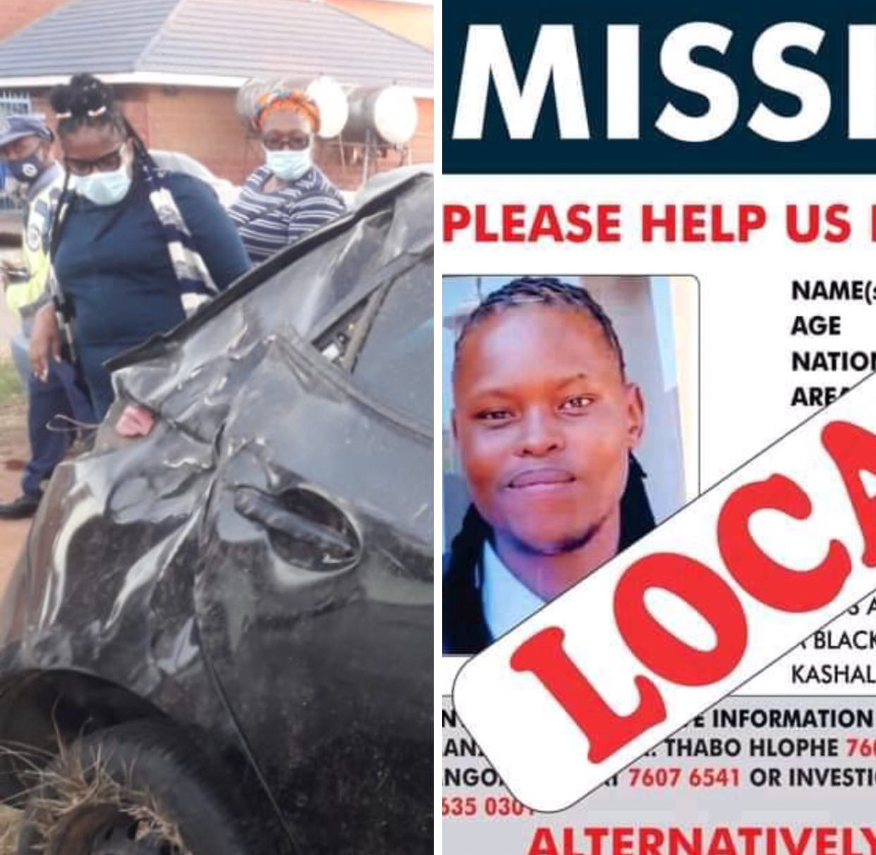 EXPOSED: Police killed missing Thabani Nkomonye dumped his body at Nhlambeni. image