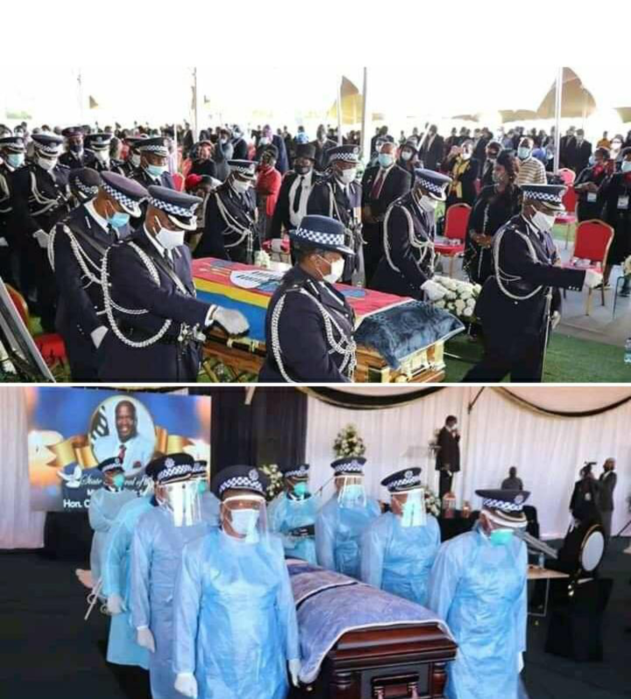 Minister of Public Service State funeral raises more suspicions regarding Prime Minister's cause of death
