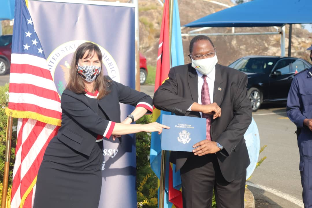 US Ambassador: E93million donation to assist in building a strong health system